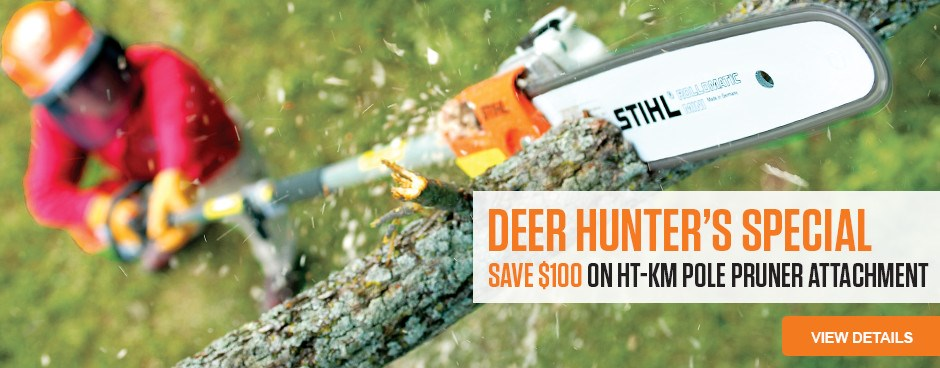 Deer Hunters Special - Save $100 on HT-KM Attachment